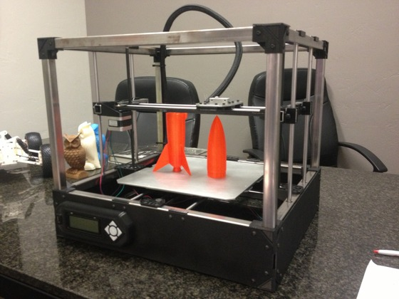 Gigabot 3d printer reviews prices 3d hubs for Made with 3d printer