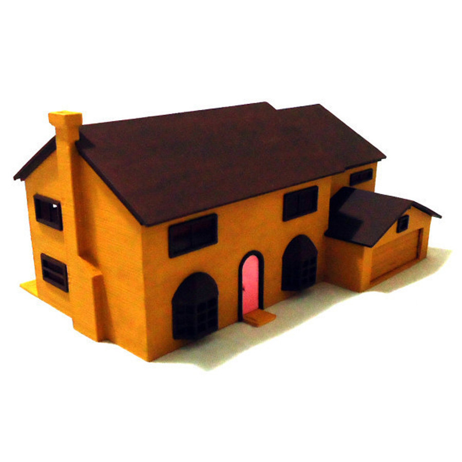 3D Printable Simpsons House