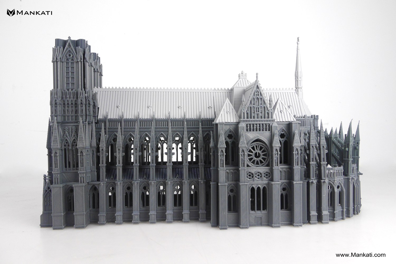 3d printed the cathedral of reims with mankati fullscale xt plus mankati 3d hubs talk. Black Bedroom Furniture Sets. Home Design Ideas