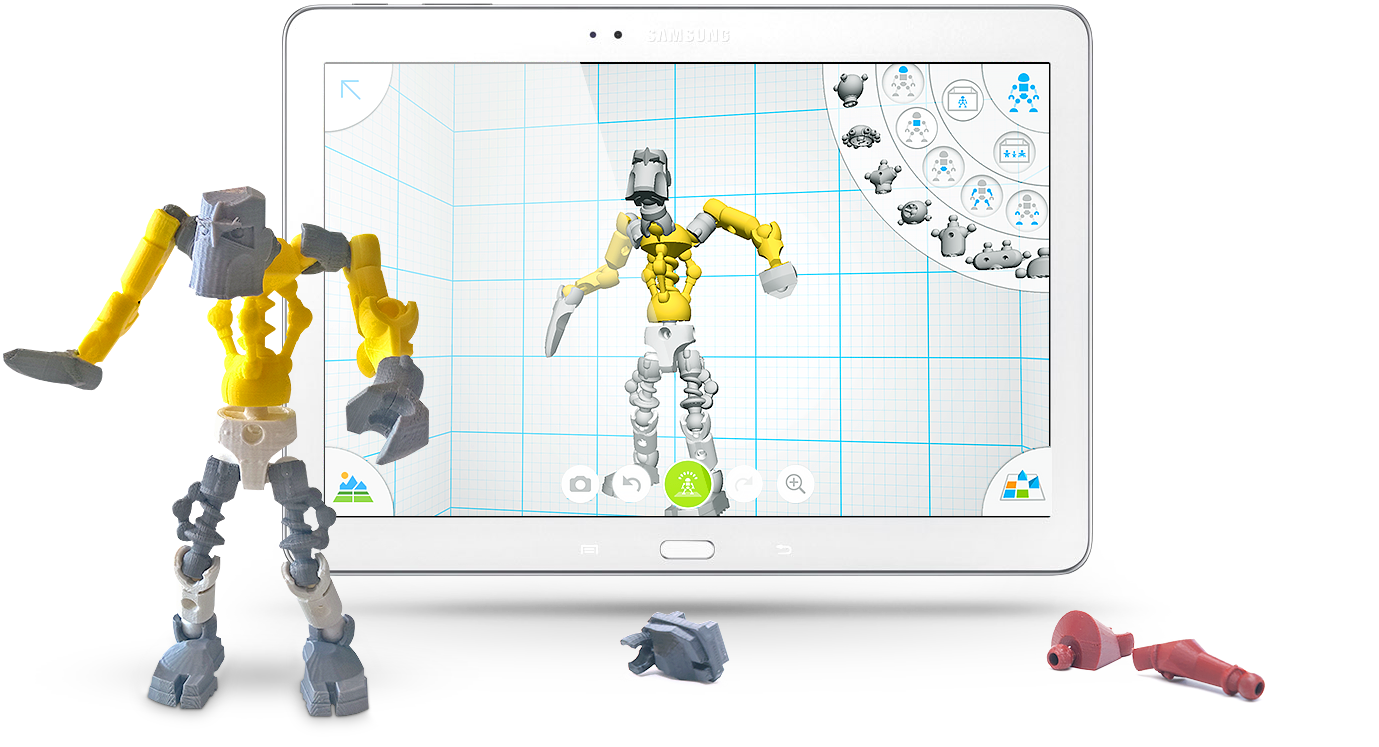 Design And Print Yourself An Awesome Robot 3d Hubs News